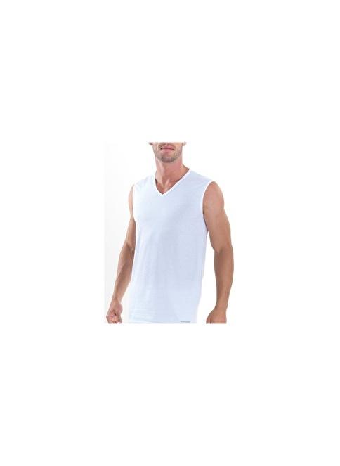 Blackspade Erkek Atlet Beyaz
